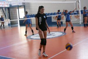 """Prosegue la preparazione della Saracena Volley """"All Work"""". Prima settimana di allenamenti dedicata al piano fisico."""