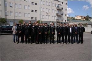 Visita del Gen. Rispoli alla Compagnia Carabinieri di Roccella Jonica e alle Stazioni di Platì, San Luca e Africo Nuovo.