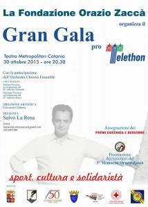 Galà di solidarietà pro Telethon, venerdì 30 ottobre al Metropolitan di Catania