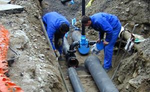 acqua riparazione