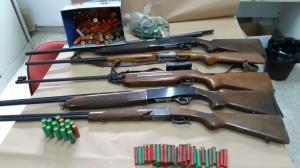 Ardore (Rc): Quattro persone denunciate per detenzione illegale di armi e munizioni.