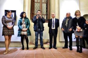 """Inaugurata ieri sera al Castello di Spadafora (Me) la mostra """"La Pratica della Pittura"""""""