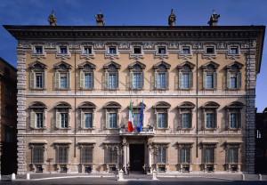SENATO DELLA REPUBBLICA - Roma - Palazzo_Madama_facciata