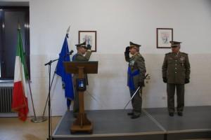 """Cambio al vertice del Comando Militare Esercito """"Calabria""""."""