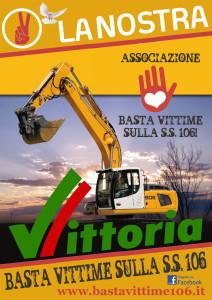 """Calabria. Associazione """"Basta Vittime Sulla Strada Statale 106"""": La nostra vittoria sulla s.s.106, 2.200 milioni di euro per la strada della vita"""