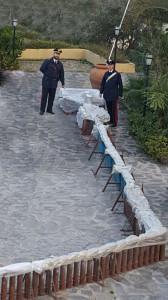 Foto dei fuochi sequestrati