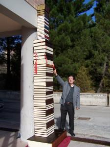 colonna pi_ alta del mondo libri scritti al contrario by michele santelia 338 9120906