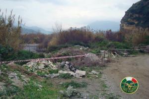 Barcellona P.G. (Me). Sequestro area ad opera del Corpo Forestale Regione Siciliana.
