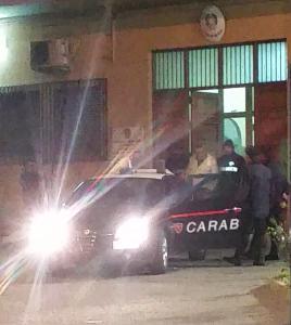 Foto arresto CC Messina Sud