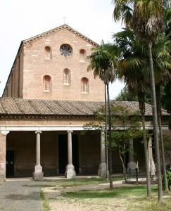 abbazia tre fontane - roma eur