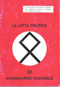 avanguardia nazionale - estrema destra - manifesto