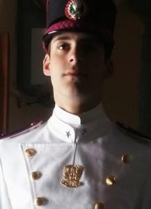 cadetto EMANUELE LABANCA Scuola Militare Teuliè Milano 2016