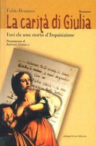 copertina libro LA CARITA' DI GIULIA - Fabio Romano - Napoli 2002