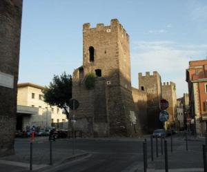 mura aureliane a Piazzale Tiburtino - Roma