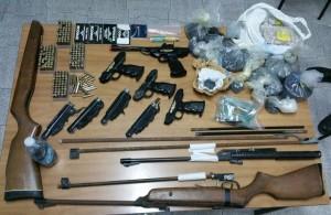 Carabinieri Gruppo di Locri (Rc). Continua l'attività di rastrellamento alla ricera di armi e droga: un arresto.