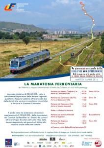 La Maratona Ferroviaria in Calabria arriva a Soveria Mannelli (Cz).