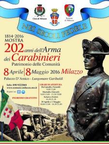 mostra 202 anni carabinieri