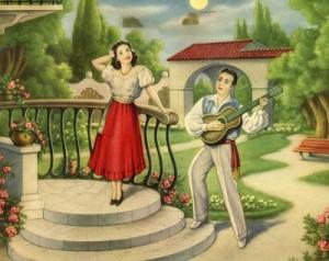 serenata - quadro di casa mia Badolato