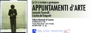 Cosenza. Appuntamenti d'arte. Conferenza di Leonardo Passarelli – L'occhio del fotografo