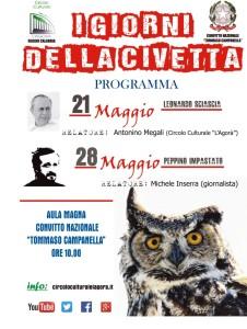 """Reggio Calabria. Sabato 28 maggio ore 10 conferenza su """"Peppino Impastato"""""""
