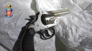 Zona Nebroidea (Me). Carabinieri: una rivoltella ritrovata sotto un cumulo di sassi in un'area boschiva e 2 arresti per furto aggravato