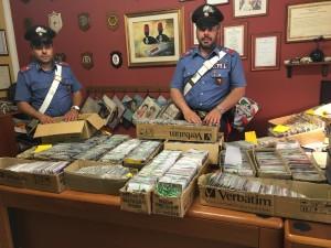 Messina: i carabinieri arrestano un pregiudicato per vendita di CD contraffatti e ricettazione.