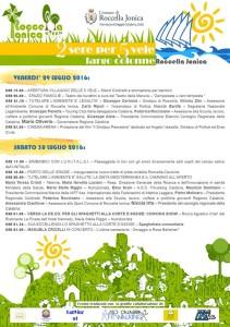 """Roccella Jonica (Rc) festeggia le """"5 Vele"""" con una due giorni di iniziative dedicate all'ambiente"""