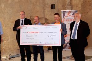 Il team primo classifico alla Start Cup Calabria
