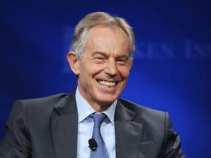 Tony Blair quando era primo ministro di Gran Bretagna