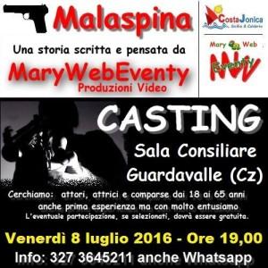 casting 8 luglio 2016