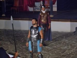 """Barcellona P.G. (Me). Buona la prima teatrale de """"Il Gladiatore"""""""