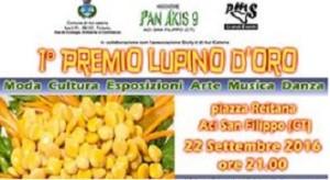 """Al via con il 1° Premio """"Lupino d'oro"""" il 22 settembre ad Aci San Filippo (Ct) a partire dalle ore 21.00, location Piazza Reitana"""