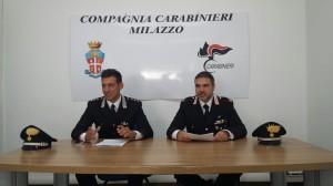 Foto Conferenza Carabinieri Milazzo