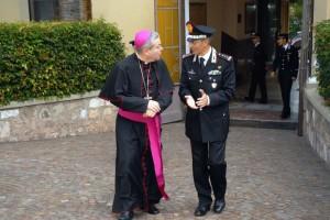 Foto Ordinario Militare con Generale C.A.Ghiselli