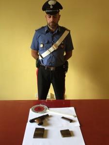 Zona Nebroidea (Me), continuano i controlli a tappeto dei Carabinieri: arrestato un 50enne per detenzione abusiva di arma e droga