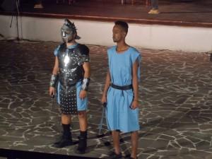 Gladiatore e Iuba