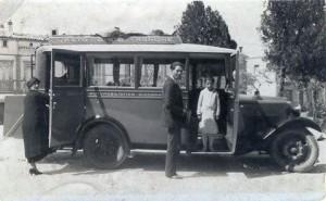 Luigi Mancini  e due donne BUS GISSANA - anni trenta