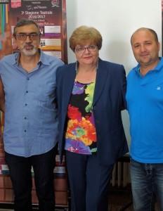 Tania Alioto-Giuseppe Pollicina-Mariella Gitto-Assessore Damiano Maisano-Ivan Bertolami