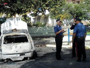 Incendio autovettura della Polizia Municipale di Satriano (Cz): i Carabinieri individuano e denunciano il responsabile.