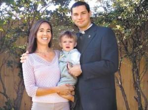 prete con moglie e figli