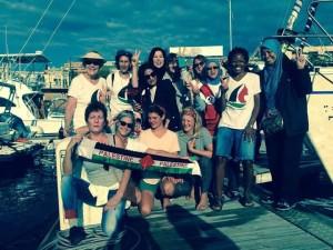 Freedom Flotilla, giunta a Messina la barca Zaytouna. Alle 17 accoglienza alla passeggiata a mare