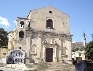 Badolato borgo - facciata chiesa di San Domenico