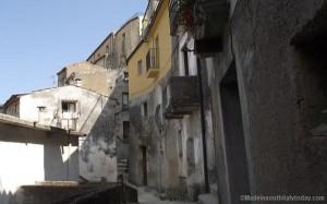 Badolato borgo - particolare Rione Mancuso