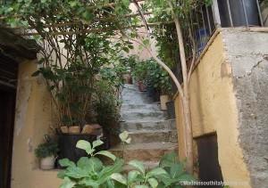 Badolato borgo - particolare ingresso casa