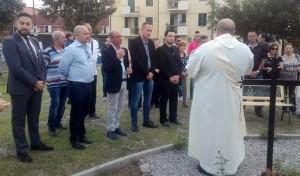 Benedizione del prete