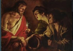 Giovanni Seròdine (Ascona 1600-1630) - Il Cristo deriso -