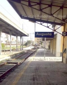 Veduta Stazione di Augusta