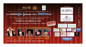 """A Palermo, uno spettacolo per sostenere il Centro clinico """"Nemo Sud"""" che lotta contro le malattie neuromuscolari."""