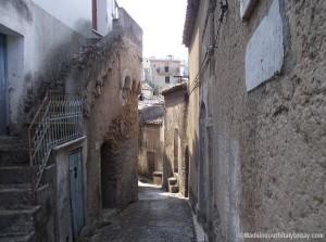 bodolato borgo - particolare viuzza Rione Destro