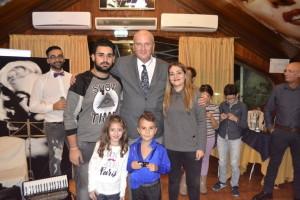 Giada La Malfa e Damiano Impala con la giuria